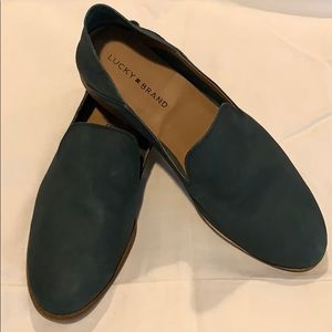 Lucky Brand-Kelp Cahill Suede Loafer